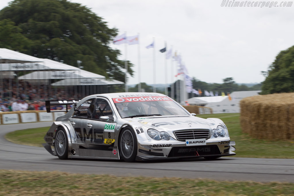 Mercedes-Benz C-Class DTM  - Entrant: Mercedes-Benz Classic - Driver: Dario Franchitti  - 2014 Goodwood Festival of Speed