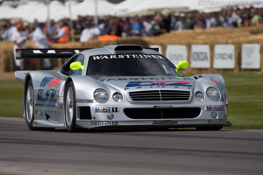 Mercedes-Benz CLK GTR - Chassis: 0004 - Entrant: Mercedes-Benz Classic - Driver: Klaus Ludwig  - 2014 Goodwood Festival of Speed
