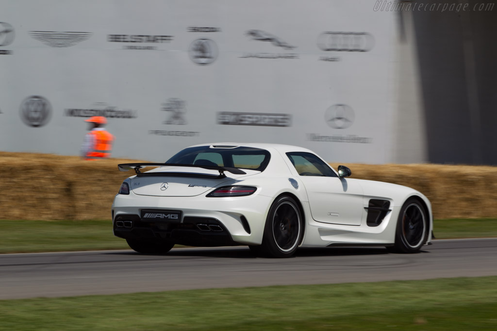 Mercedes Benz Sls Amg Black Series 2014 Goodwood