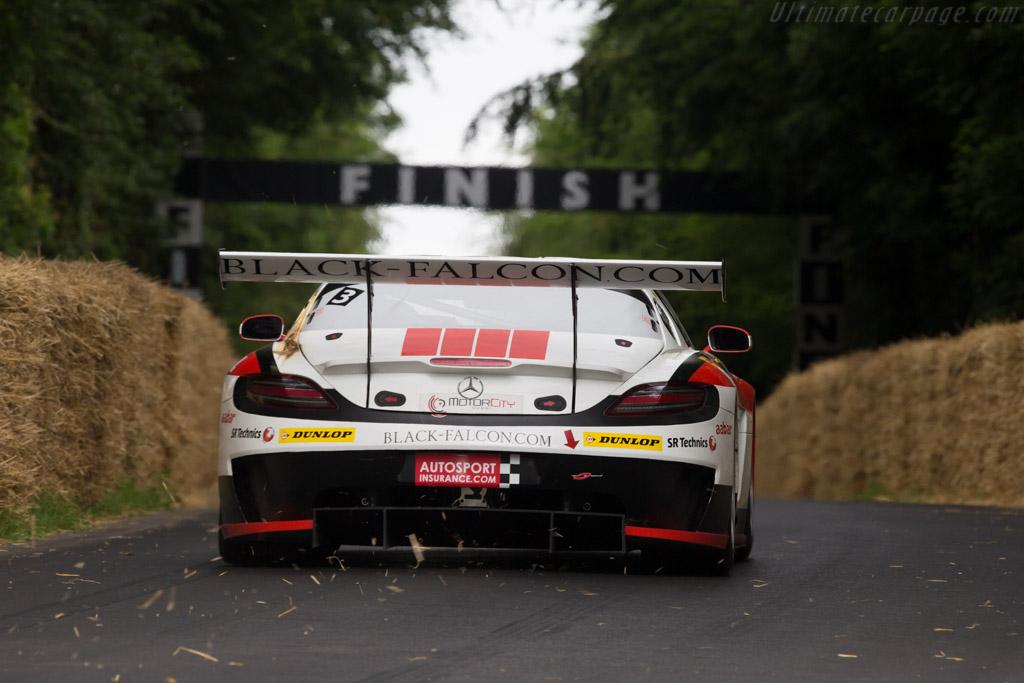 Mercedes-Benz SLS GT3 - Chassis: 058 - Entrant: Mercedes-Benz Classic - Driver: Jochen Mass  - 2014 Goodwood Festival of Speed