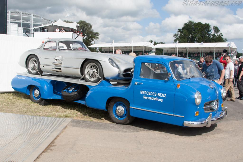 Mercedes-Benz Transporter   - 2014 Goodwood Festival of Speed