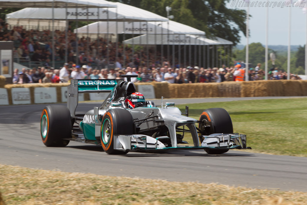 Mercedes-Benz W03  - Driver: Johnny Herbert  - 2014 Goodwood Festival of Speed
