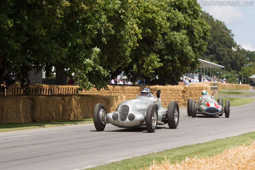 Mercedes-Benz W125 - Chassis: 166369 - Entrant: Mercedes-Benz Classic - Driver: Roland Asch  - 2014 Goodwood Festival of Speed