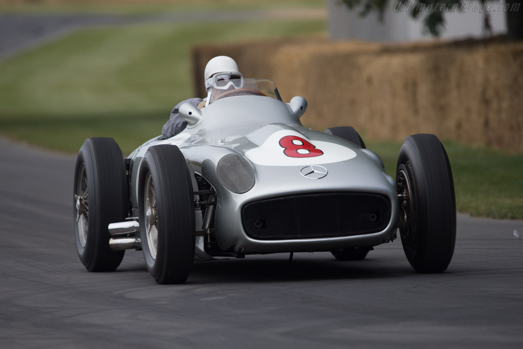 Mercedes-Benz W196  - Entrant: Mercedes-Benz Classic - Driver: Sir Stirling Moss  - 2014 Goodwood Festival of Speed