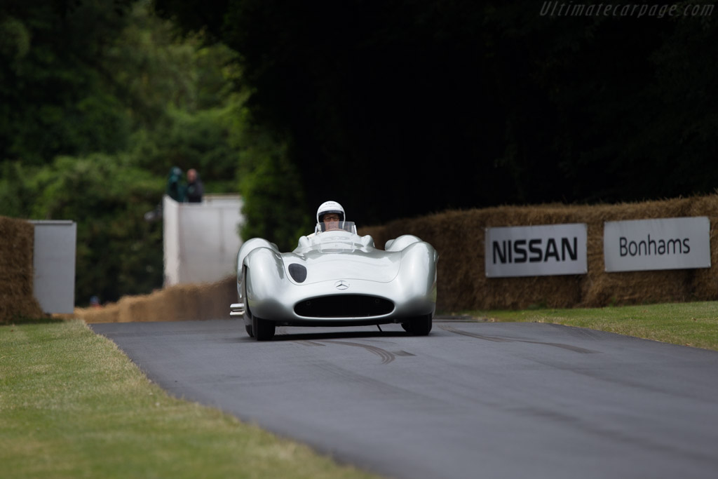 Mercedes-Benz W196 Streamliner - Chassis: 000 10/54 - Entrant: Mercedes-Benz Classic - Driver: Charles Lord March  - 2014 Goodwood Festival of Speed