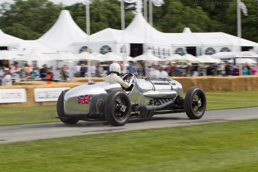 Napier Railton Special  - Entrant: Brooklands Motor Museum - Driver: Allan Winn  - 2014 Goodwood Festival of Speed