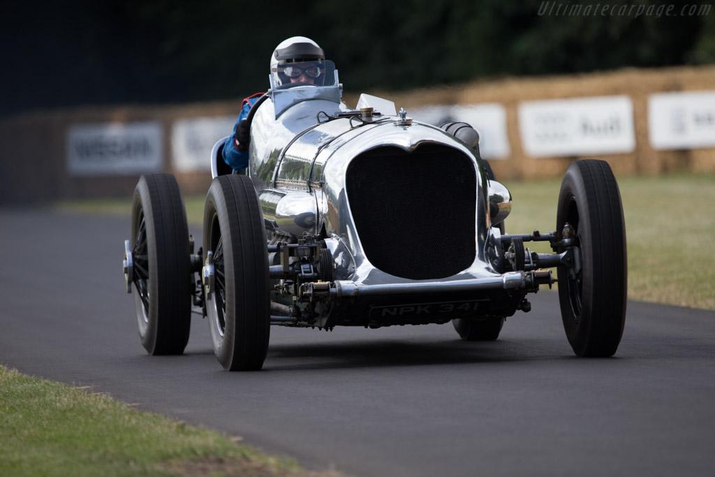 Napier Railton Special  - Entrant: Brooklands Motor Museum - Driver: Allan Winn  - 2014 Goodwood Festival of Speed
