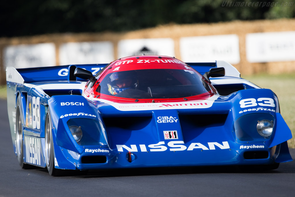 Nissan GTP ZX Turbo - Chassis: 8701 - Driver: Kent Abrahamson  - 2014 Goodwood Festival of Speed