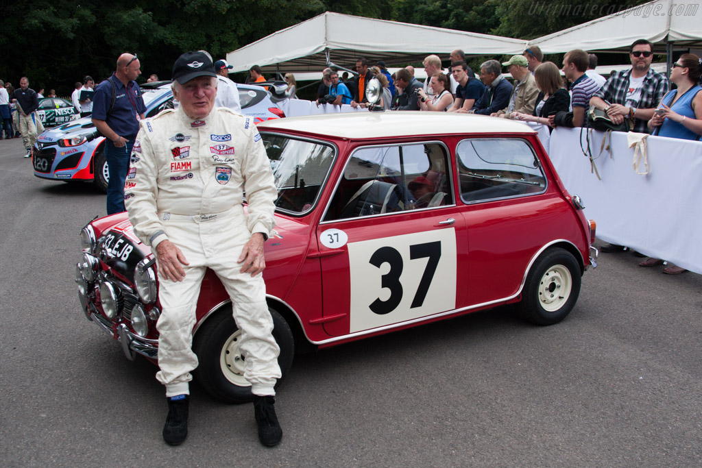 Paddy Hopkirk    - 2014 Goodwood Festival of Speed