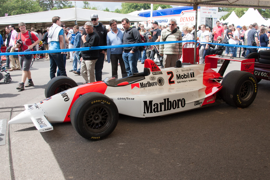 Penske PC23 Mercedes - Chassis: PC23/003 - Entrant: Mercedes-Benz Classic  - 2014 Goodwood Festival of Speed