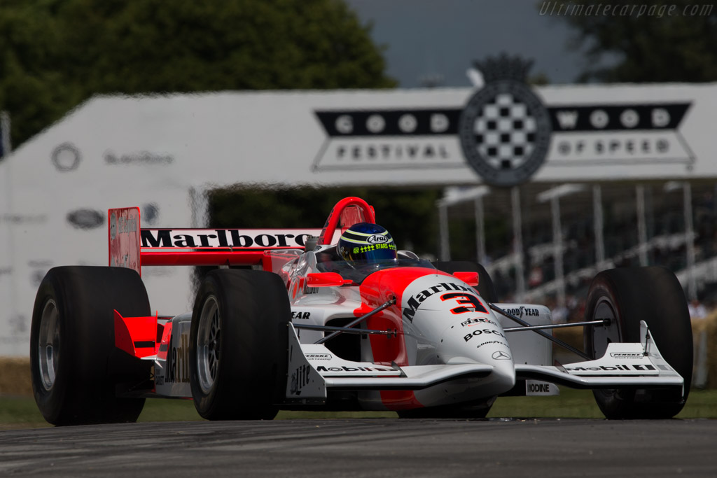 Penske PC26 Mercedes  - Entrant: Patrick Morgan - Driver: Chris Ward  - 2014 Goodwood Festival of Speed