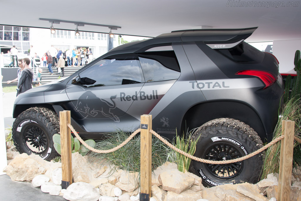 Peugeot 2008 DKR    - 2014 Goodwood Festival of Speed
