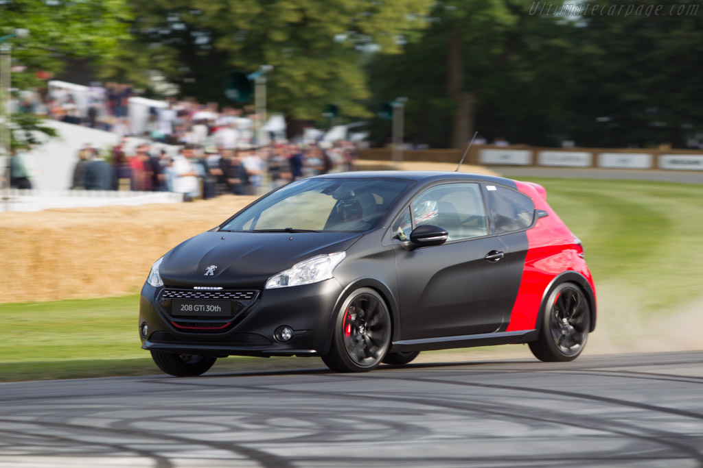 Peugeot 208 GTi    - 2014 Goodwood Festival of Speed