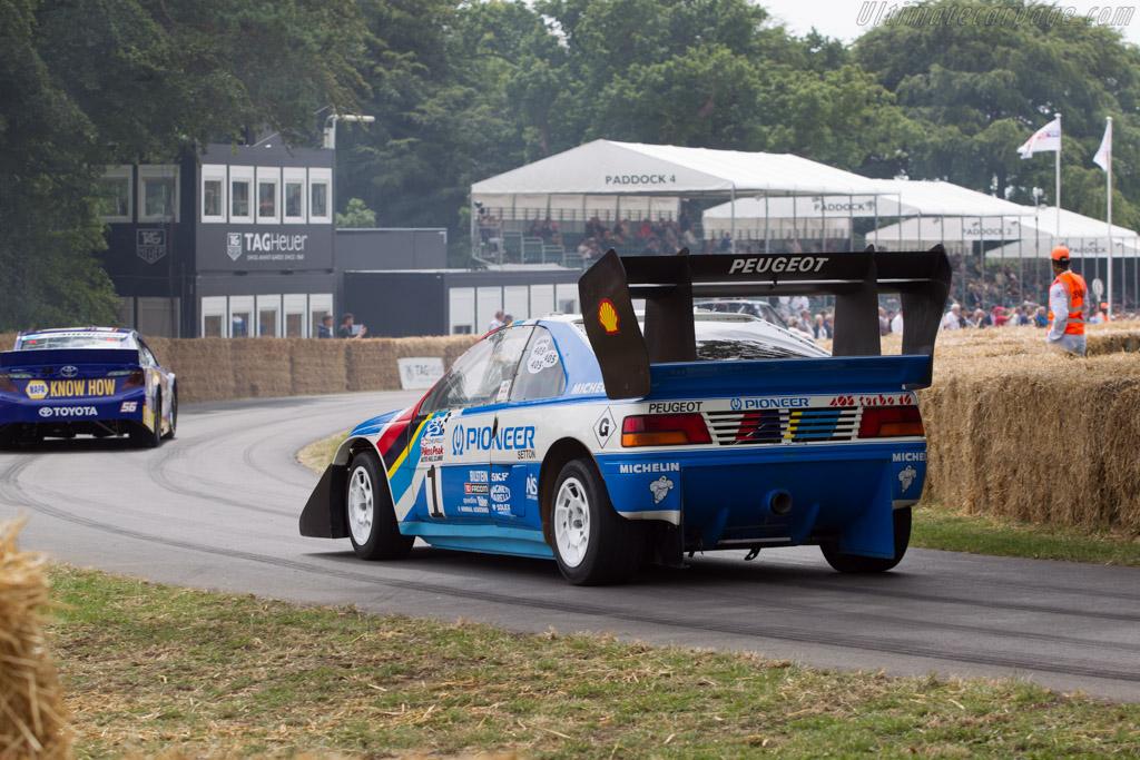 Peugeot 405 T16 Pikes Peak - Chassis: 405003 - Driver: Enda Garvey  - 2014 Goodwood Festival of Speed