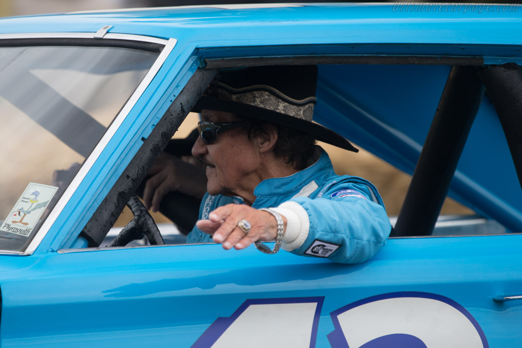 Plymouth Belvedere GTX  - Entrant: Petty Enterprises - Driver: Richard Petty  - 2014 Goodwood Festival of Speed