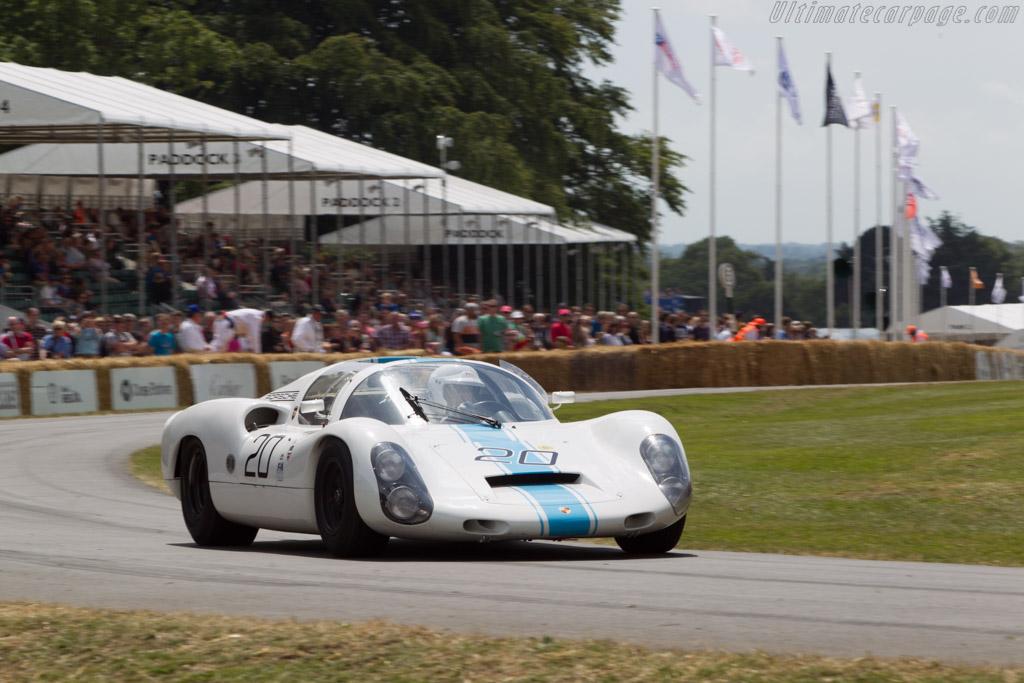 Porsche 910 - Chassis: 910-020 - Driver: Rainer Becker  - 2014 Goodwood Festival of Speed