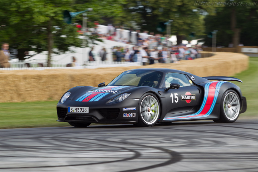 Porsche 918 Spyder - Chassis: WP0ZZZ91ZES800951   - 2014 Goodwood Festival of Speed