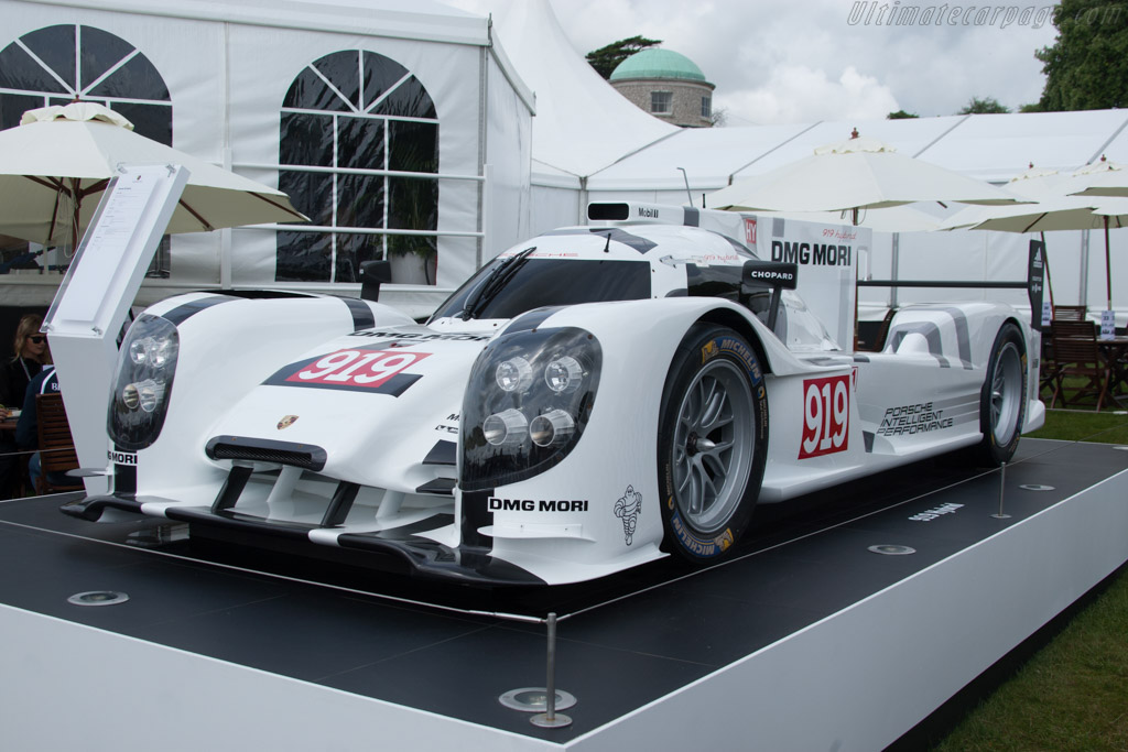 Porsche 919 Hybrid    - 2014 Goodwood Festival of Speed