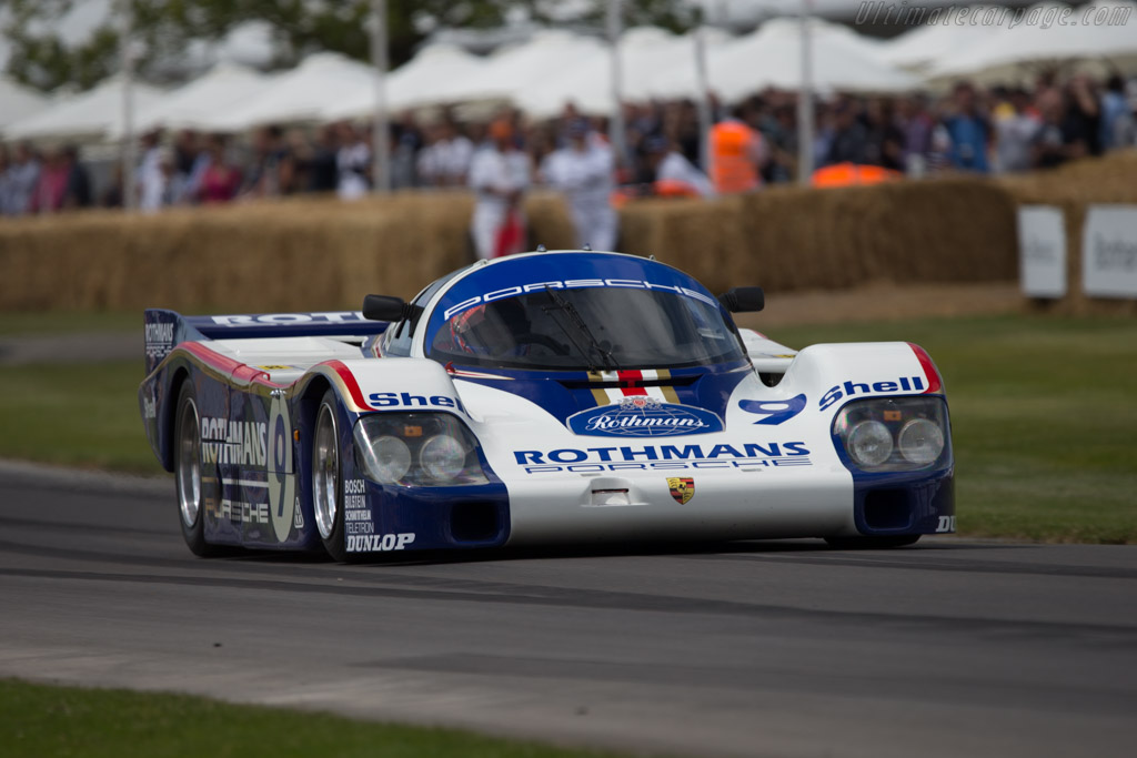 Porsche 956 - Chassis: 956-004 - Entrant: Kriton Lendounis - Driver: Andre Prill  - 2014 Goodwood Festival of Speed