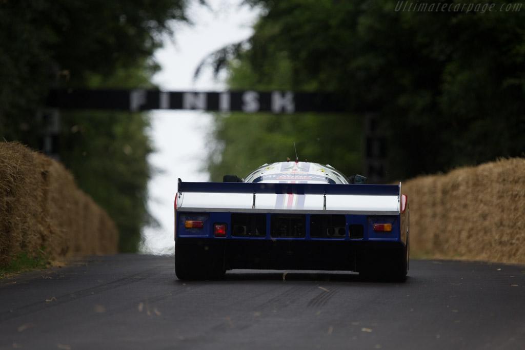 Porsche 962C - Chassis: 962-006 - Entrant: Porsche Museum GOH - Driver: Brendon Hartley  - 2014 Goodwood Festival of Speed