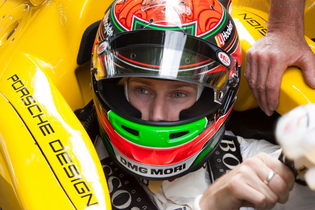 Porsche RS Spyder - Chassis: 9R6 710 - Entrant: Porsche Museum GOH - Driver: Brendon Hartley  - 2014 Goodwood Festival of Speed