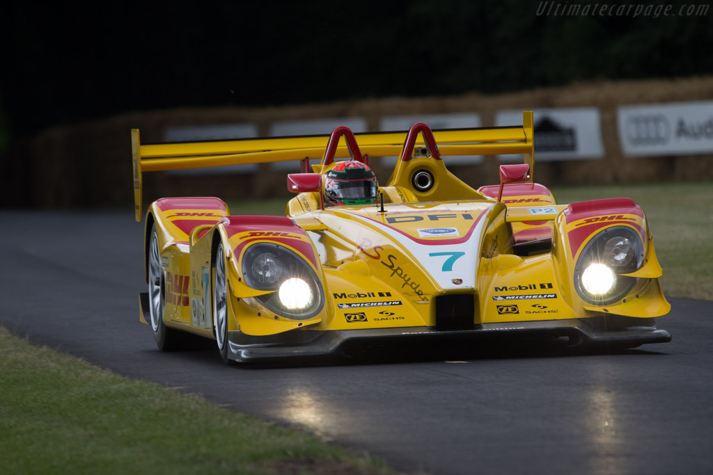 Porsche RS Spyder - Chassis: 9R6 710 - Entrant: Porsche Museum GOH - Driver: Brendon Hartley  - 2014 Goodwood Festival of Speed