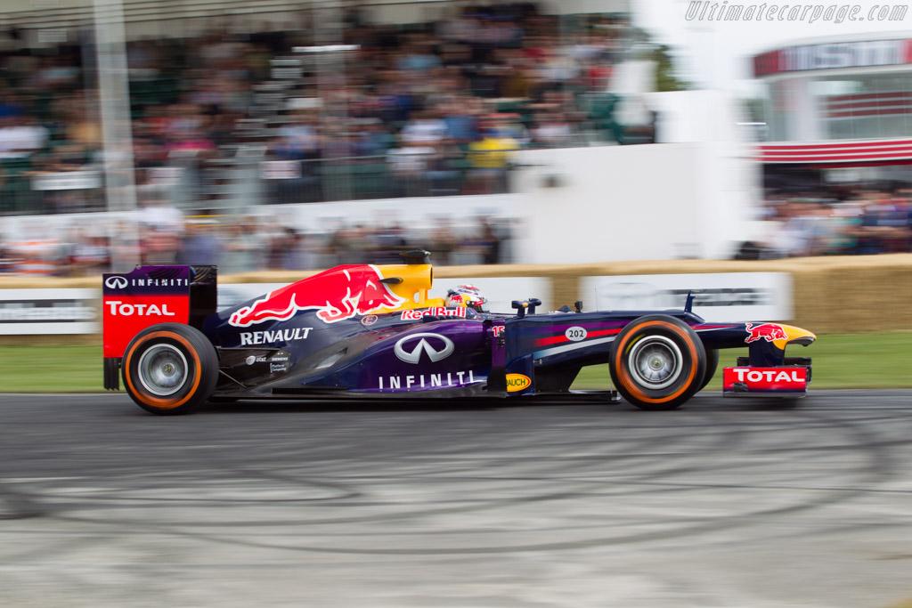 Red Bull Racing RB7 Renault  - Entrant: Infiniti Red Bull Racing - Driver: Sebastian Buemi  - 2014 Goodwood Festival of Speed