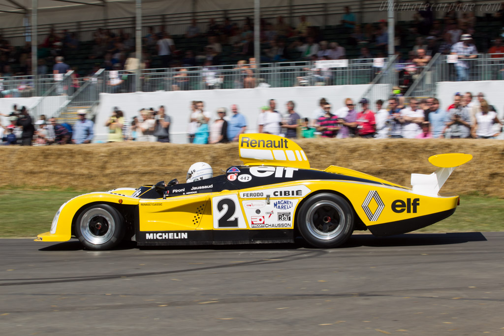 Renault Alpine A442B - Chassis: 442/3 - Entrant: Renault Classic - Driver: Rene Arnoux  - 2014 Goodwood Festival of Speed