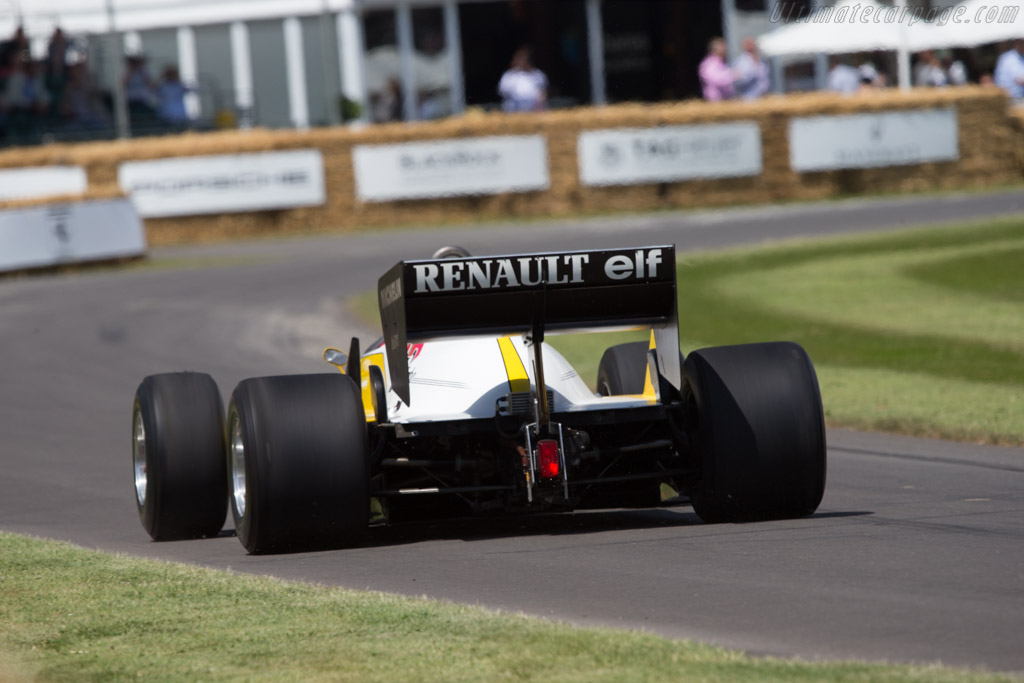 Renault RE40 - Chassis: RE40-04 - Entrant: Renault Classic - Driver: Rene Arnoux  - 2014 Goodwood Festival of Speed