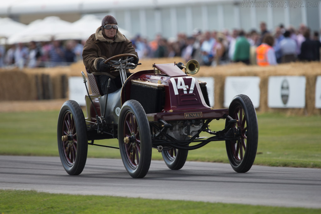 Renault Type K  - Entrant: Renault Classic - Driver: Eric Leroux  - 2014 Goodwood Festival of Speed