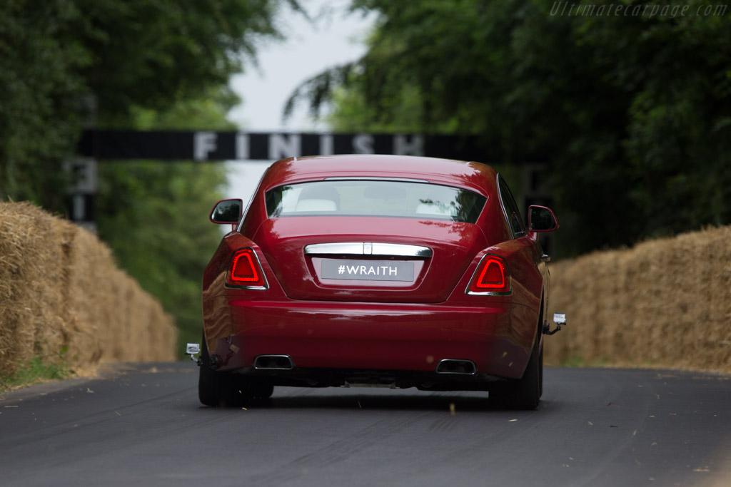 Rolls-Royce Wraith    - 2014 Goodwood Festival of Speed