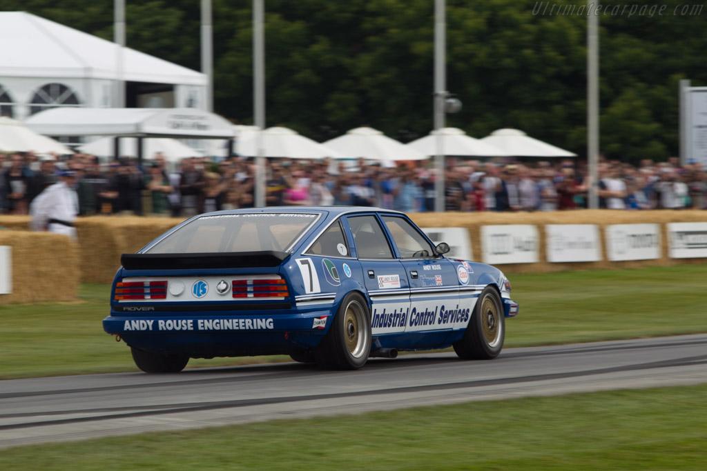 Rover SD1 Vitesse  - Entrant: Nigel Garrett - Driver: Andy Rouse  - 2014 Goodwood Festival of Speed