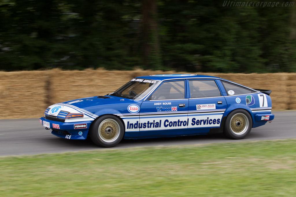 Rover SD1 Vitesse  - Entrant: Nigel Garrett - Driver: Stuart Hall  - 2014 Goodwood Festival of Speed