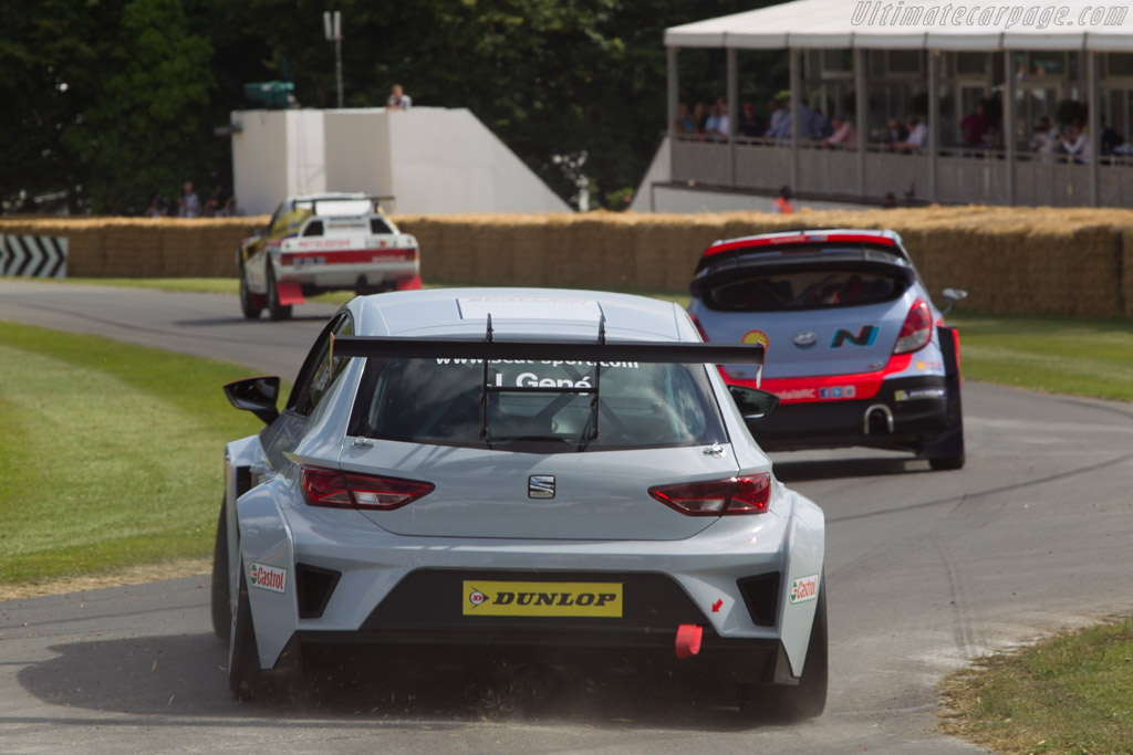 Seat Leon Cup  - Entrant: Seat Sport - Driver: Jordi Gene  - 2014 Goodwood Festival of Speed