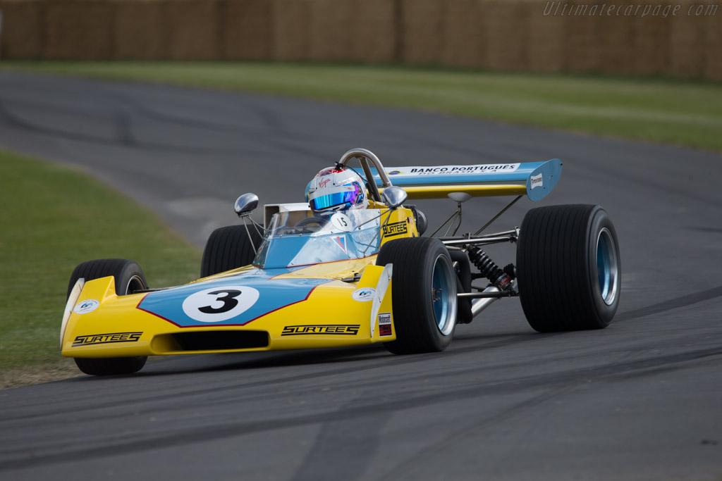 Surtees TS15 Hart  - Entrant: Team Surtees ltd - Driver: Sam Bird  - 2014 Goodwood Festival of Speed