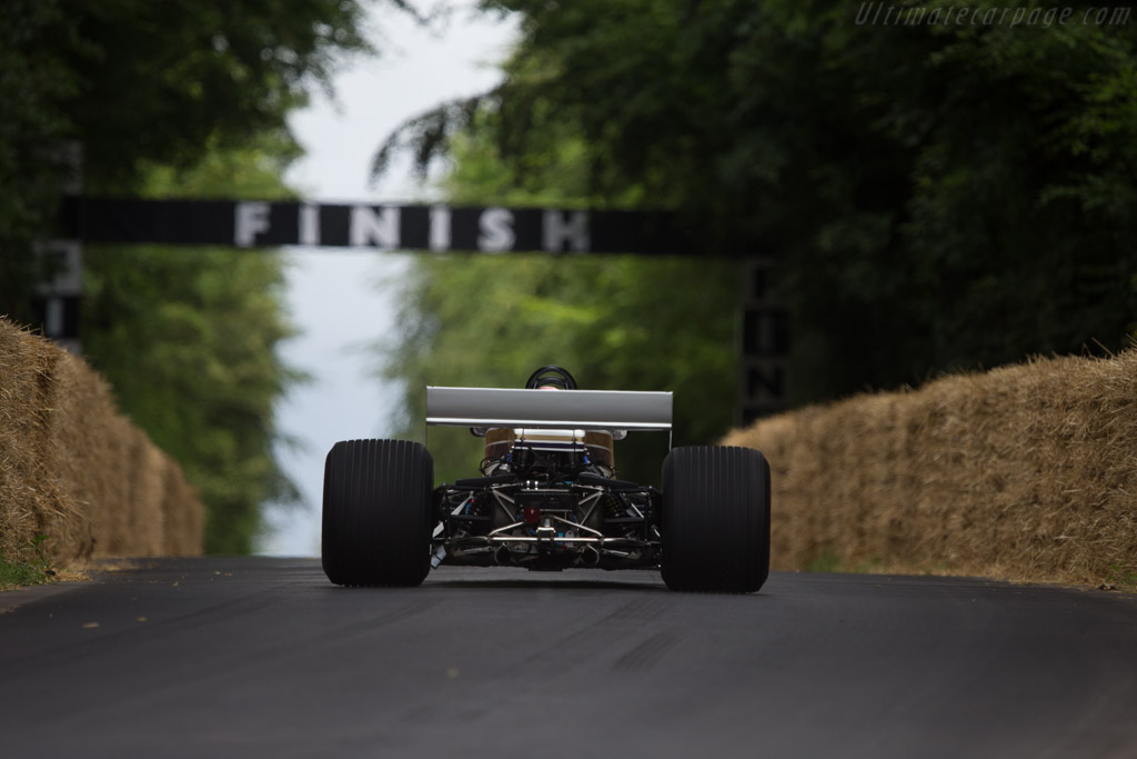 Surtees TS19 Cosworth - Chassis: 1 - Entrant: Team Surtees ltd - Driver: Sam Bird  - 2014 Goodwood Festival of Speed