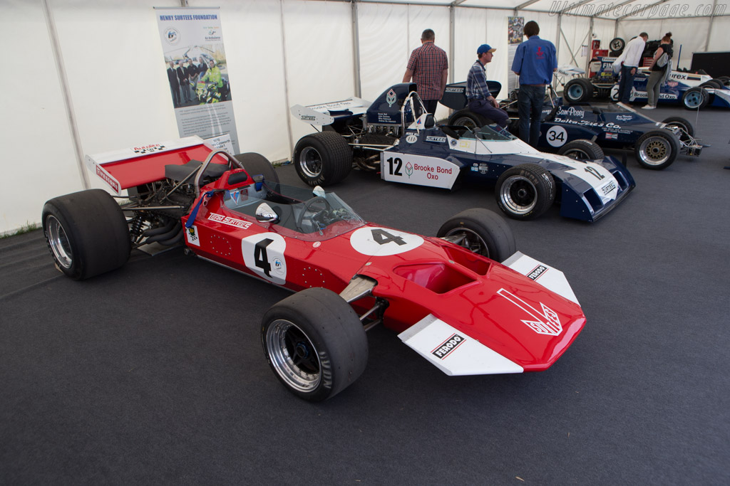 Surtees TS7 Cosworth - Chassis: TS7-01 - Entrant: Team Surtees ltd  - 2014 Goodwood Festival of Speed