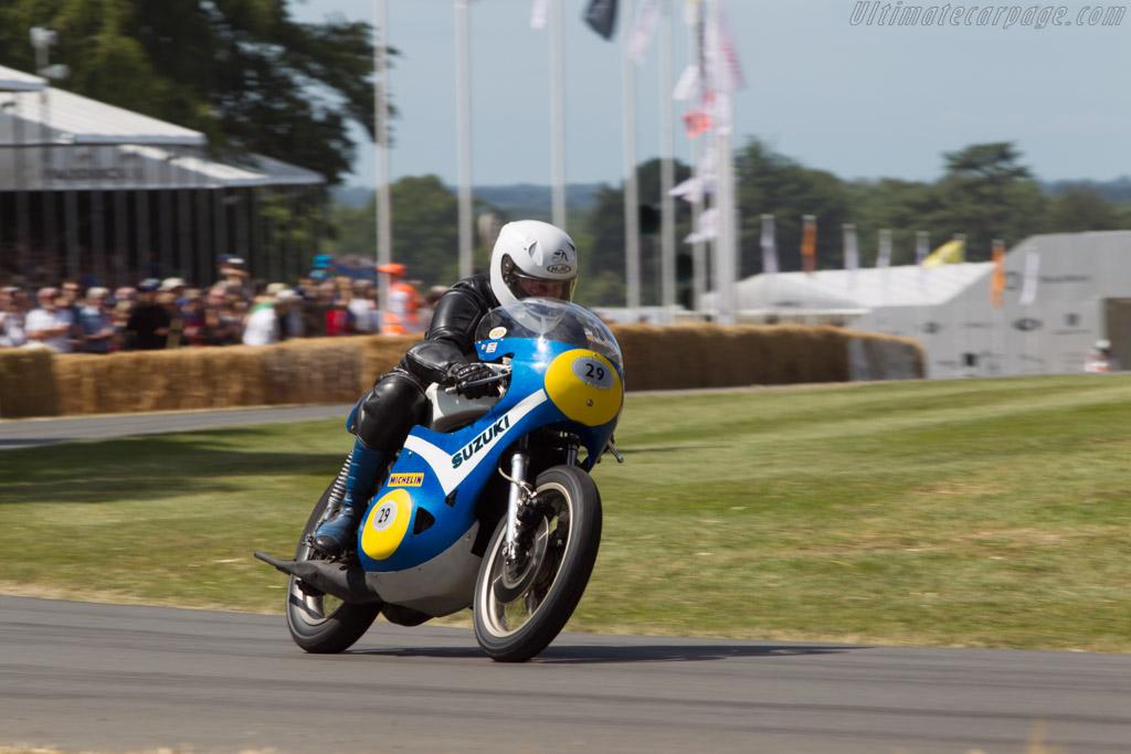 Suzuki XR05 RG500  - Driver: Louis Oulevey  - 2014 Goodwood Festival of Speed