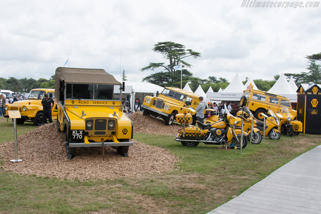 The AA    - 2014 Goodwood Festival of Speed
