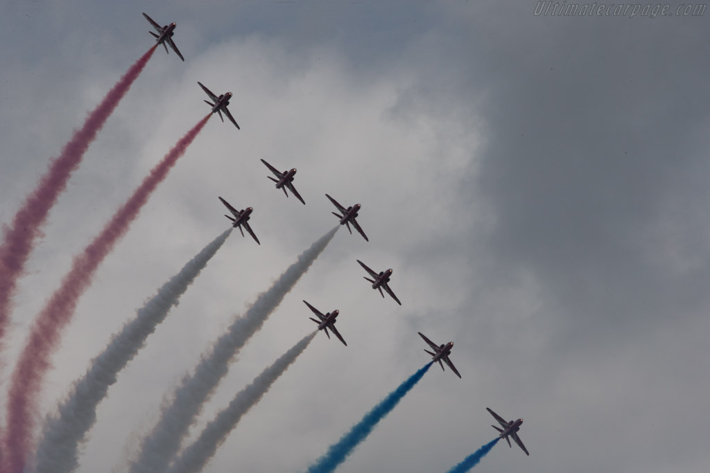 The red arrows    - 2014 Goodwood Festival of Speed