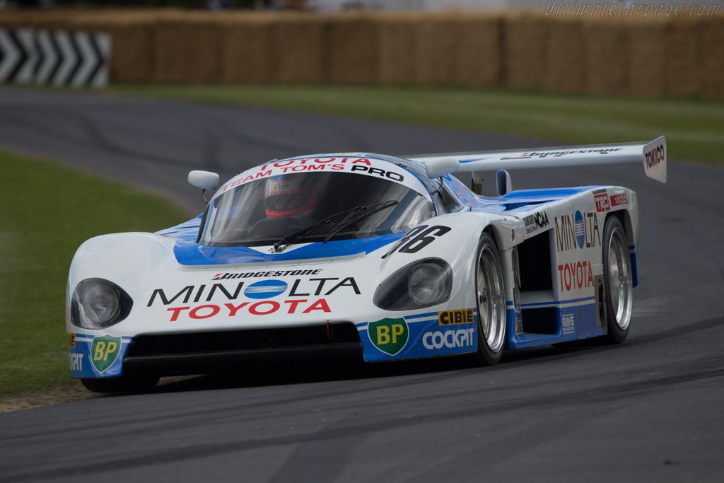 Toyota 87C - Chassis: 003 - Entrant: Kent Abrahamson - Driver: Phil Stott  - 2014 Goodwood Festival of Speed