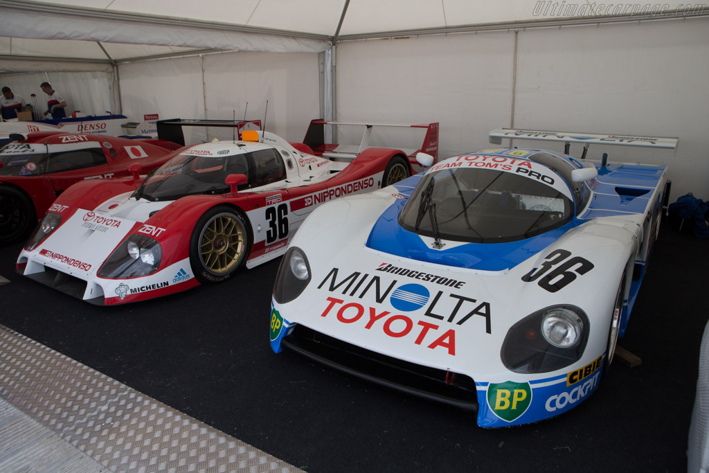 Toyota 87C - Chassis: 003 - Entrant: Kent Abrahamson  - 2014 Goodwood Festival of Speed