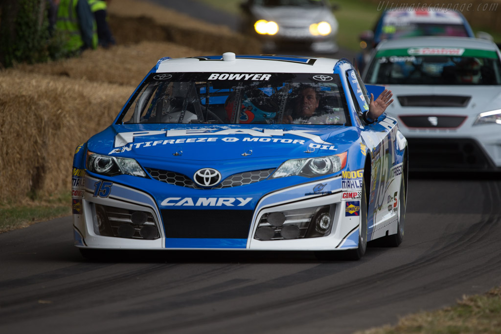 Toyota Camry  - Entrant: Michael Waltrip Racing - Driver: Michael Waltrip  - 2014 Goodwood Festival of Speed