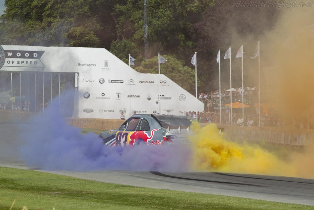 Toyota Camry  - Entrant: Red Bull UK - Driver: Patrick Friesacher  - 2014 Goodwood Festival of Speed