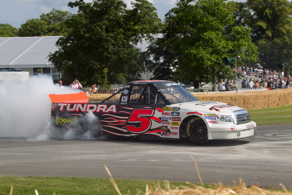 Toyota Tundra  - Driver: Mike Skinner  - 2014 Goodwood Festival of Speed