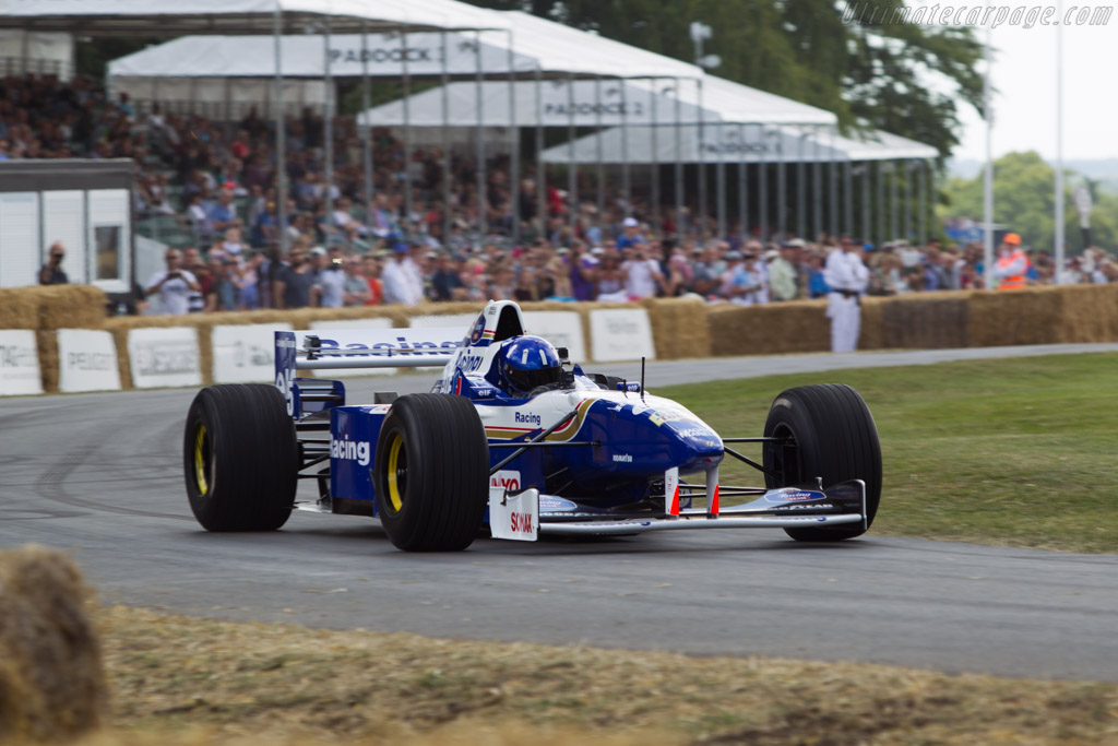 Williams FW18 Renault - Chassis: FW18/04 - Entrant: Williams F1 - Driver: Damon Hill  - 2014 Goodwood Festival of Speed