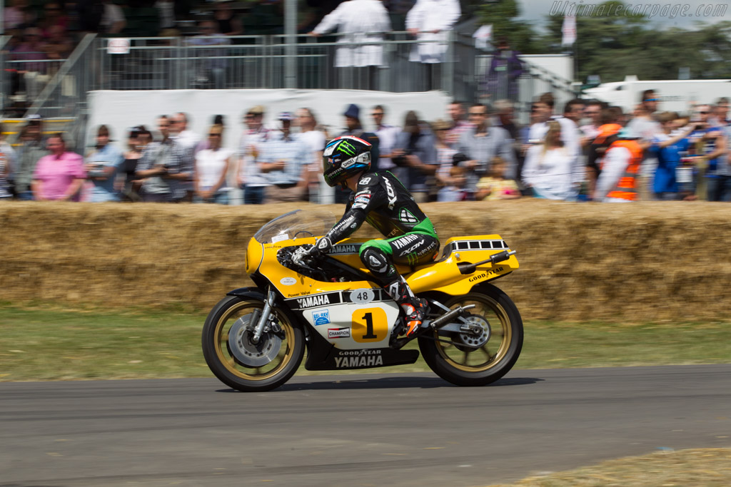 Yamaha OW48R YZR500  - Entrant: Chris Wilson - Driver: Brad Smith  - 2014 Goodwood Festival of Speed
