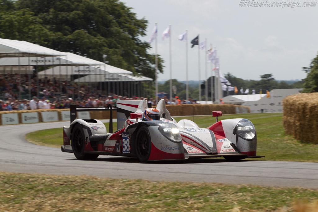 Zytek Z11SN Nissan  - Entrant: Jota Sport - Driver: Harry Tincknell  - 2014 Goodwood Festival of Speed