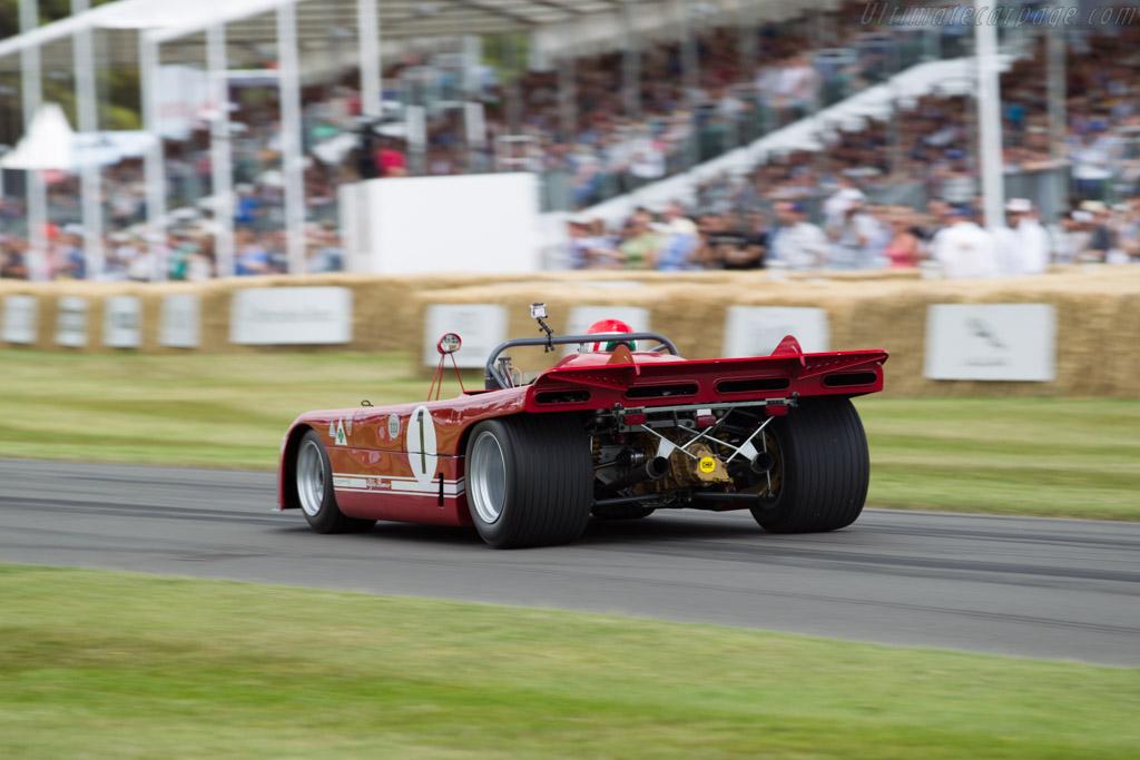 Alfa Romeo 33/TT/3 - Chassis: 11572-001 - Entrant: Scuderia del Portello - Driver: Marco Cajani  - 2015 Goodwood Festival of Speed