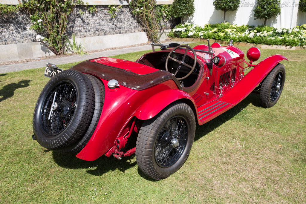 Alfa Romeo 8C 2300 MM on alfa romeo chassis